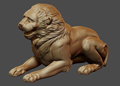 Greek Lion